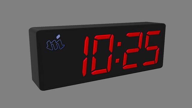 clock seven segment