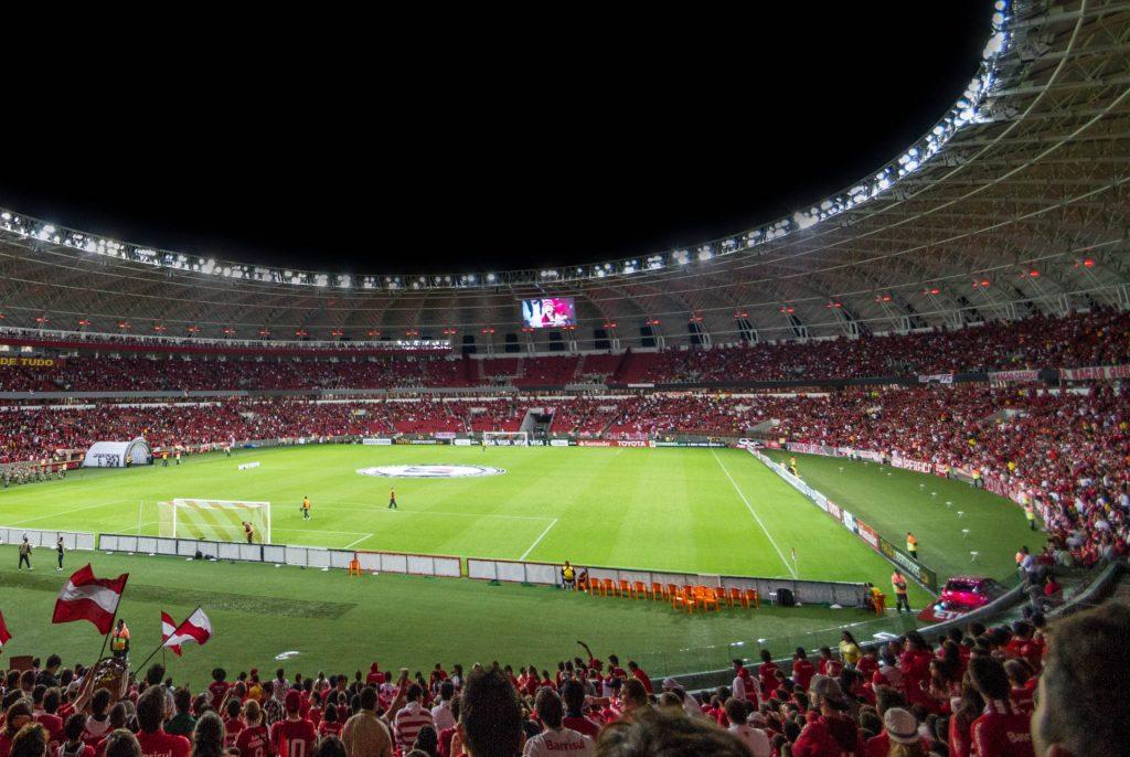 sports stadium display